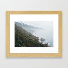 Fog I Framed Art Print