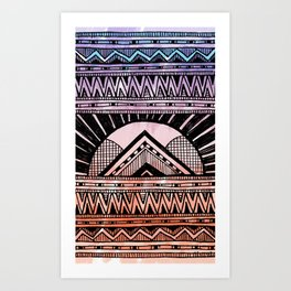 Surf Afternoon Art Print