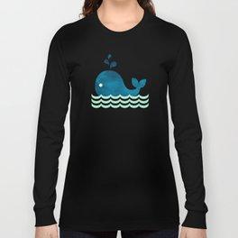 Little Whale Long Sleeve T-shirt