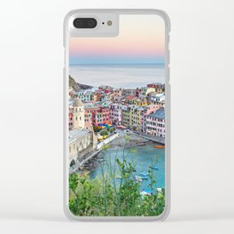 Cinque Terre, Italy Clear iPhone Case