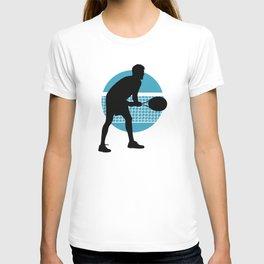 TENNIS indoor Return Net T-shirt