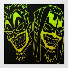 Icp heads Canvas Print
