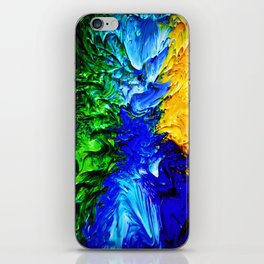 """Gas Flame"" Digital Print iPhone Skin"
