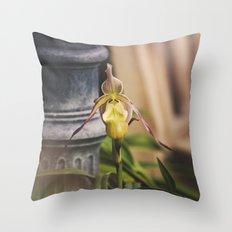 La Petite Fleur Throw Pillow