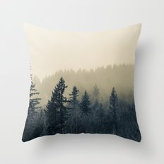 Mists of Noon Throw Pillow