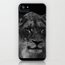 Her Majesty the Lioness iPhone Case