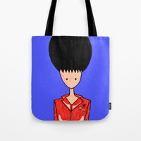 rockabilly Tote Bags featuring rockabilly by Luana Rios