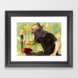 Plague Gaffer Framed Art Print