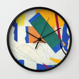 Memory of Oceania - Henri Matisse Wall Clock