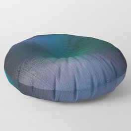 Beauty of the Northern Lights Floor Pillow