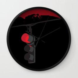 Twin Peaks Traffic Light Wall Clock