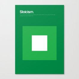 Stoicism Canvas Print