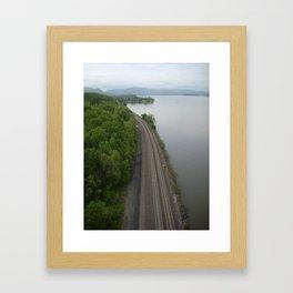 Train Tracks ... Framed Art Print