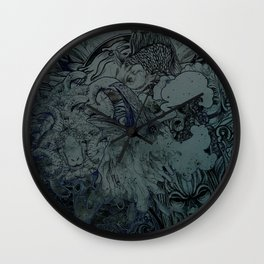 Mix Night Wall Clock