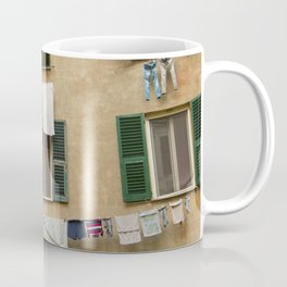 Hanging laundry Coffee Mug