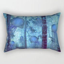 Magical Oceanic Forest Rectangular Pillow
