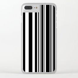 Lines 02 Clear iPhone Case