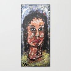 MRS. BROWN Canvas Print