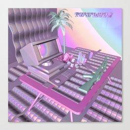 Vaporwave Canvas Print