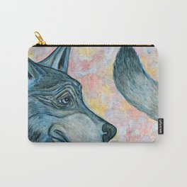 Moving Forward, Looking Back Carry-All Pouch