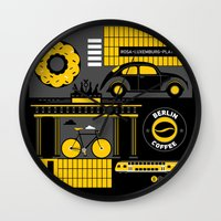 berlin Wall Clocks featuring Berlin by koivo