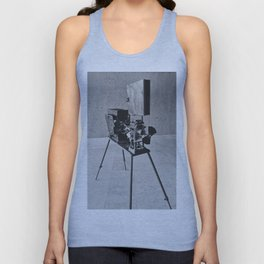 Vintage Cinema Camera Unisex Tank Top