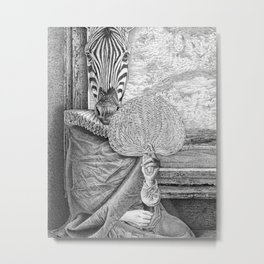My Friend's Shield. Metal Print