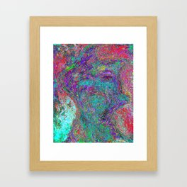 Resurrected erection of Arrogance Framed Art Print