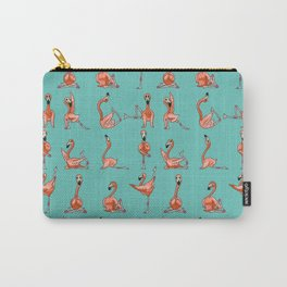 Flamingo Yoga Carry-All Pouch