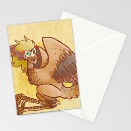 Masked Harpy  Stationery Cards