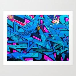 Jagged Lines Art Print