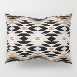 New Mexico in Tan Pillow Sham