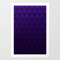 Variations on a Feather II - Raven Wing Art Print