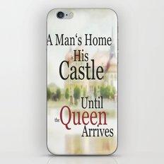 a man's home ... iPhone & iPod Skin