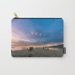 Colorful sunset in front of the city of Trieste Carry-All Pouch