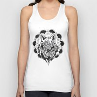 bad wolf Tank Tops featuring Bad Wolf by Carina Maitch
