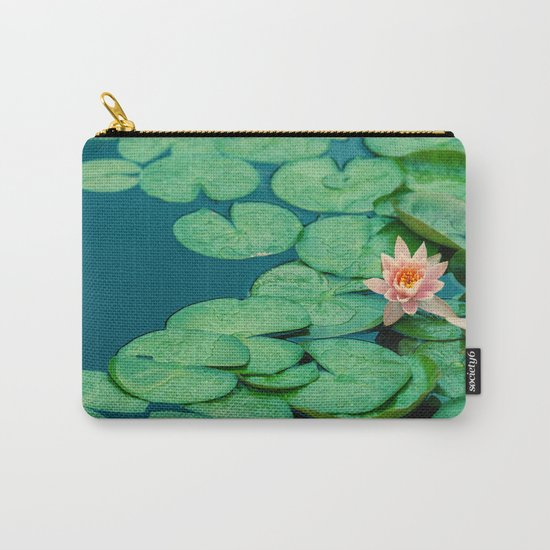 Lily Pond Carry-All Pouch