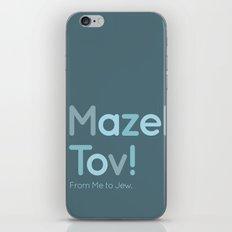Mazel Tov! iPhone Skin