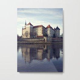Torgau an der Elbe Schloss Hartenfels Metal Print