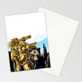 Golden Bearborg Stationery Cards