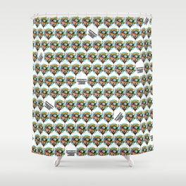 Moo Moo Print Shower Curtain