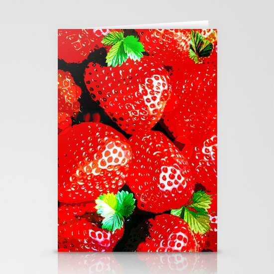 STRAWBERRY for IPhone Stationery Cards
