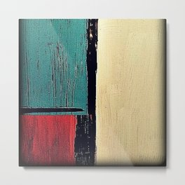minimal painting, colours abstract bright Metal Print