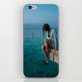 Three colors - Blue! iPhone Skin