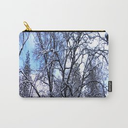 Winter in my yard... Carry-All Pouch