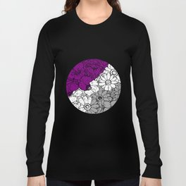 Asexual flowers Long Sleeve T-shirt