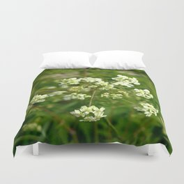 White Water Hemlock Duvet Cover