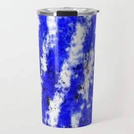 Color gradient and texture 32 blue Travel Mug