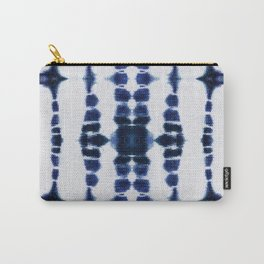 Boho Tie-Dye Knit Vertical Carry-All Pouch