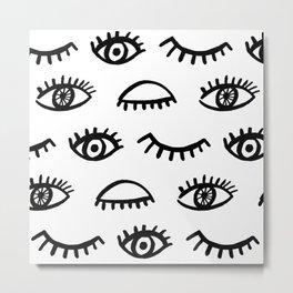 Magic Eyes Metal Print